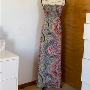 Old navy full length maxi dress